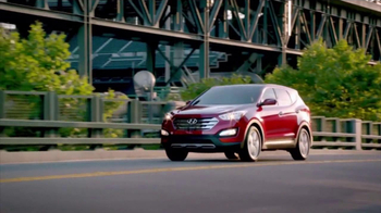 Hyundai Let's Go! Sales Event TV Spot, 'Santa Fe' - 86 commercial airings