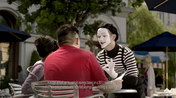State Farm TV Spot, 'Talking Mime'