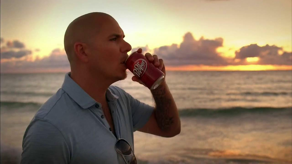 Dr Pepper TV Commercial, 'Dream' Featuring Pitbull