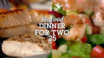 Red Lobster Seafood Dinner for Two TV Spot, 'From Chef to Table'