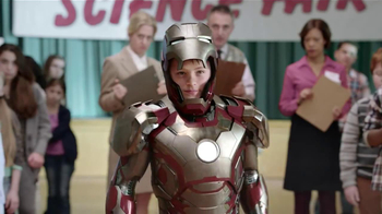 Verizon TV Spot, 'Science Project' Featuring Iron Man - Thumbnail 9