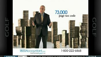 1800Accountant TV Spot, 'Smiling' Featuring Ben Stein