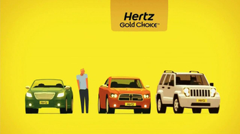 Hertz Gold Choice TV Spot, Featuring Owen Wilson