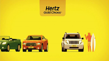 Hertz Gold Choice TV Spot, Featuring Owen Wilson  - Thumbnail 7