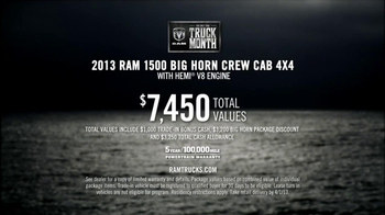Ram Truck Month TV Spot, 'What Ford and Chevy Don't' - Thumbnail 10