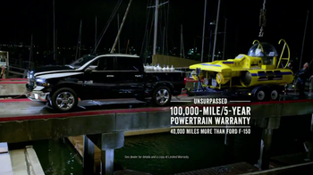 Ram Truck Month TV Spot, 'What Ford and Chevy Don't' - Thumbnail 5
