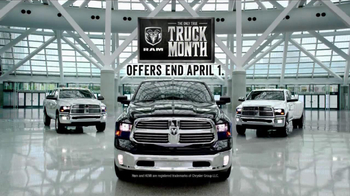 Ram Truck Month TV Spot, 'What Ford and Chevy Don't' - Thumbnail 9