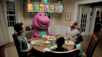 Sprout Channel Online Shop TV Spot, 'Dinner with Barney'
