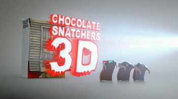 Kellogg\'s Krave TV Spot, \'Chocolate Snatchers 3D\'