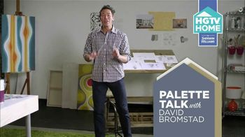 HGTV HOME by Sherwin-Williams TV Spot, 'Color and Wallpaper' Feat. David Bromstad - Thumbnail 2