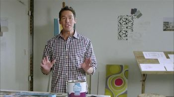 HGTV HOME by Sherwin-Williams TV Spot, 'Color and Wallpaper' Feat. David Bromstad