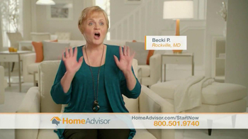 HomeAdvisor TV Spot, 'Introducing HomeAdvisor: Amy' Featuring Amy Matthews - Thumbnail 6