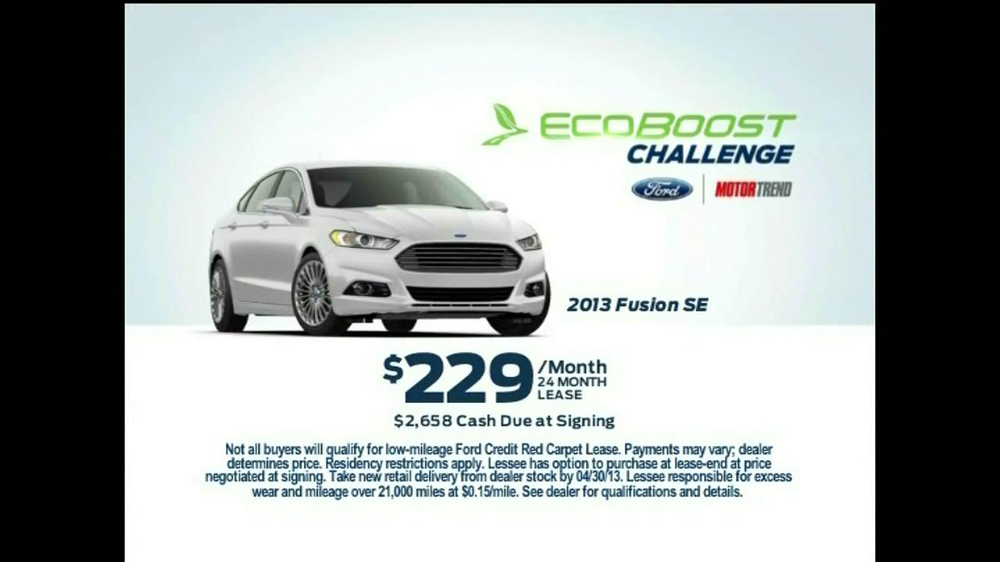 Ford Fusion Expo Speaker Commercial >> Ford EcoBoost Challenge TV Commercial, 'Fusion' - iSpot.tv