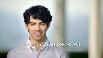 ACUVUE 1-Day Contest TV Spot, Featuring Joe Jonas - Thumbnail 10
