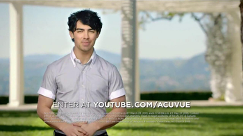 ACUVUE 1-Day Contest TV Spot, Featuring Joe Jonas - Thumbnail 7