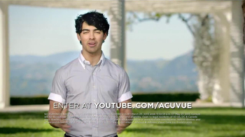 ACUVUE 1-Day Contest TV Spot, Featuring Joe Jonas - Thumbnail 8