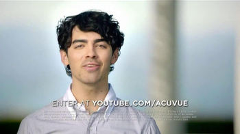 ACUVUE 1-Day Contest TV Spot, Featuring Joe Jonas - Thumbnail 9