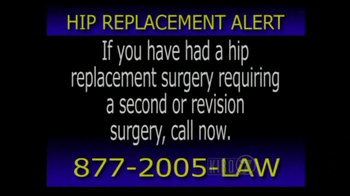 The Hollis Law Firm TV Spot, 'Hip Replacement Surgery'