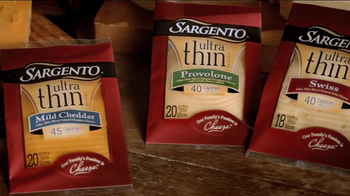 Sargento Ultra Thin Slices TV Spot - Thumbnail 9