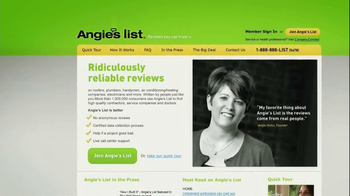 Angie's List TV Spot, 'Projects' - Thumbnail 3