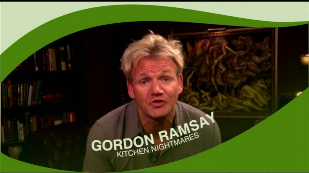 FOX Green It. Mean It. TV Commercial Featuring Gordon Ramsay