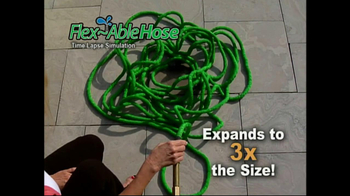 FlexAble Hose TV Spot