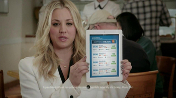 Priceline.com TV Spot, 'Free Breakfast' Featuring Kaley Cuoco - Thumbnail 4