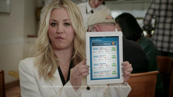 Priceline.com TV Spot, 'Free Breakfast' Featuring Kaley Cuoco - Thumbnail 5