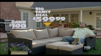 Big Lots TV Spot, 'Big Fancy Deal' - 162 commercial airings
