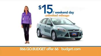 Budget Rent a Car  TV Spot, '$15 Weekend Day' - Thumbnail 6