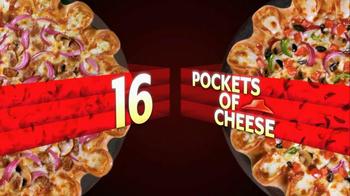 Pizza Hut Crazy Cheesy Crust Pizza TV Spot - Thumbnail 5