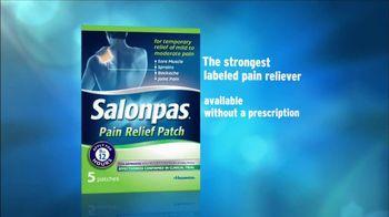 Salonpas TV Spot, 'Serious Pain Relief'