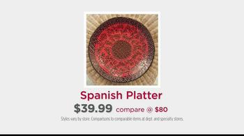 HomeGoods Spanish Platter TV Spot, 'It's From Spain' - Thumbnail 9