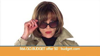 Budget Rent a Car TV Spot, 'Top Secret' Feat. Wendie Malick