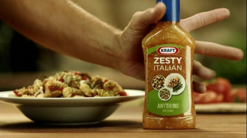 Kraft Zesty Italian Anything Dressing TV Spot, 'Bleep' - Thumbnail 10