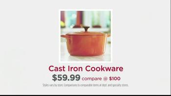 HomeGoods Cast Iron Cookware TV Spot, 'Stop Thinking' - Thumbnail 9
