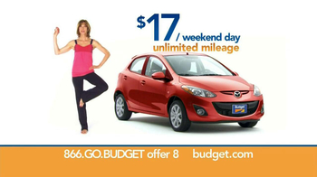 Budget Rent a Car TV Spot, 'Yoga Harmony' - 32 commercial airings