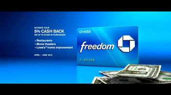 Chase Freedom TV Spot, 'Fortune Cookie' - Thumbnail 9