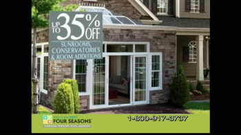Four Seasons Sunrooms The Extraordinary Sale TV Spot - Thumbnail 2