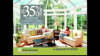 Four Seasons Sunrooms The Extraordinary Sale TV Spot