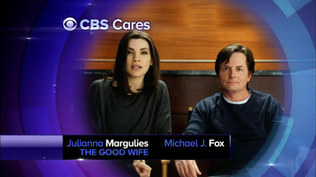 CBS Cares TV Spot, Featuring Michael J. Fox - 2 commercial airings