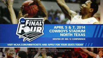 NCAA 2014 North Texas Final Four TV Spot, 'Cowboys Stadium' - Thumbnail 8