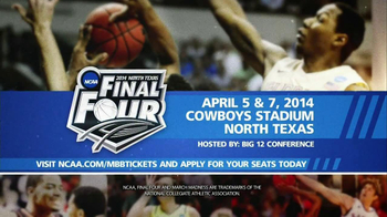 NCAA 2014 North Texas Final Four TV Spot, 'Cowboys Stadium'