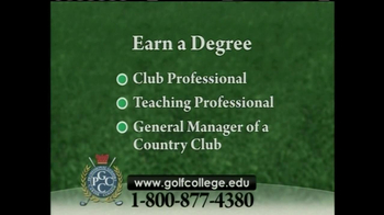 Professional Golfers Career College TV Spot, 'Exciting Golf Career' - Thumbnail 8