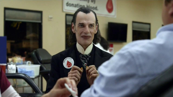 GEICO TV Spot, 'Dracula at a Blood Drive'