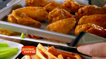 Golden Corral All You Can Eat Wings TV Spot - Thumbnail 1