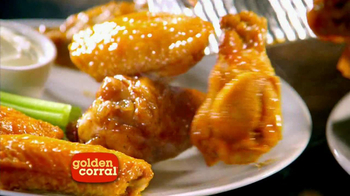 Golden Corral All You Can Eat Wings TV Spot