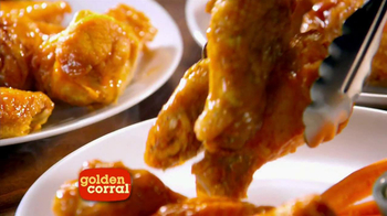 Golden Corral All You Can Eat Wings TV Spot - Thumbnail 7