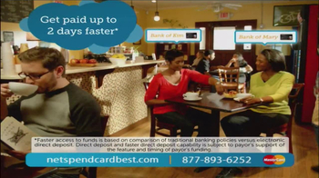NetSpend Card TV Spot, 'Bank of Kim and Mary' - Thumbnail 8