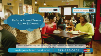 NetSpend Card TV Spot, 'Bank of Kim and Mary' - Thumbnail 9